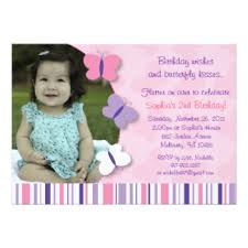 butterfly photo invitations u0026 announcements zazzle