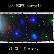 dj lights led curtain backdrop fabric wedding light curtain led