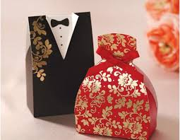 2015 unique and black laser cut wedding favor holders gift