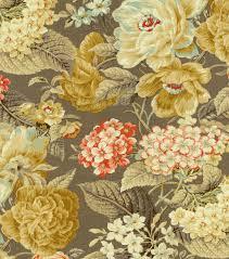 diy curtain fabric waverly floral flourish clayhome decor print
