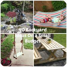 Cool Backyard Ideas On A Budget 40 Diy Backyard Ideas On A Small Budget