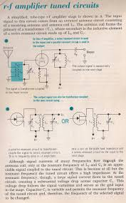 Transformer Coupled Transistor Amplifier Schematic Amplifiers 041a Rf Amplifier Tuned Circuits By Larry E Gugle K4rfe Jpg