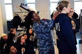 air force female hair standards navy begins rtc and otc female haircut pilot program military com