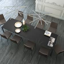 Napoli Dining Table Napoli Dining Table Anthracite Modloft Touch Of Modern