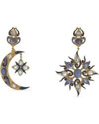 percossi papi earrings lyst shop women s percossi papi earrings from 221