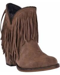 Brown Fringe Ankle Boots Great Deal On Women U0027s Dingo Juju Fringe Ankle Boot Di7454 Tan