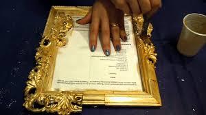 dipingere cornici come trasformare una cornice argentata in dorata con argento e