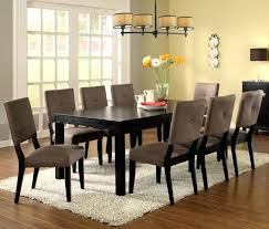 Cheap Dining Room Tables Espresso Dining Room Set Furniture Of Bay Side I 9 Pieces Table