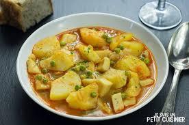 de cuisine espagnole ragoût de pommes de terre à la seiche cuisine espagnole