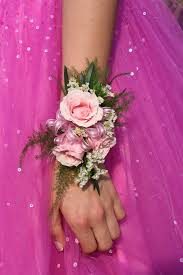 pink corsages for prom prom corsage color and fashion
