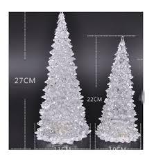 glow tree ornaments decorations