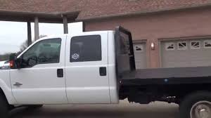 hd video 2013 ford f350 xlt crew cab diesel flat bed for sale see