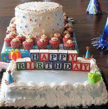 special birthday cake alphabet theme birthday party