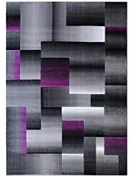Black And Purple Area Rugs Masada Rugs Modern Contemporary Area Rug Purple Grey
