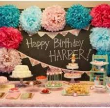 Birthday Decoration Ideas At Home For Husband Home Design Baby First Birthday Party Decorations At Home