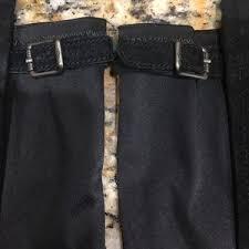 ugg australia danae leather chocolate ugg shoes danae stretch black knee high boots 8 poshmark