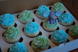angela barton u0027s cakes elephant baby shower cupcakes