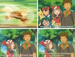 dopl3r com memes arcanine is using extreme speed hey brpck