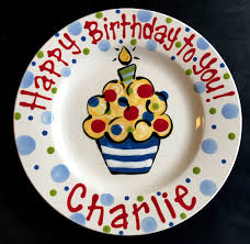 personalized birthday plate custom birthday plate tradition thoughtful gifts