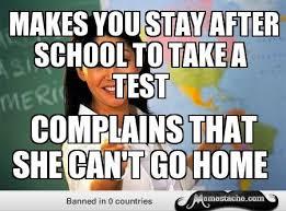 unhelpful high school teacher meme funny things pinterest meme