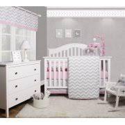 Gray Chevron Crib Bedding Chevron Baby Bedding