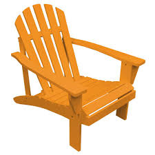 What Are Adirondack Chairs Us Leisure Adirondack Mushroom Patio Chair 232983 The Home Depot