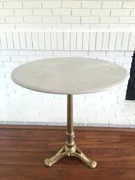antique marble bistro table vintage bistro table amazing of vintage marble bistro table with