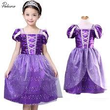 aliexpress com buy girls rapunzel fancy dress costume kids