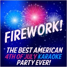 F115 Wall Mount Firework The Best American 4th Of July Karaoke Party Ever
