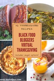 black food thanksgiving feast dash of jazz