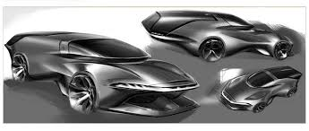 ferrari sketch this ferrari study brings the daytona shooting brake into the 21st