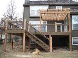 second story deck ideas for your backyard decking backyard and