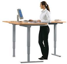 advantages of a height adjustable desk u2013 furniture depot