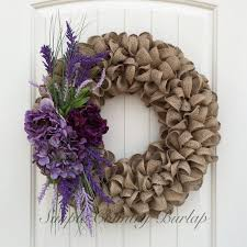 best 25 purple wreath ideas on hydrangea wreath