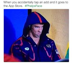 Michael Phelps Meme - phelpsface angry michael phelps know your meme