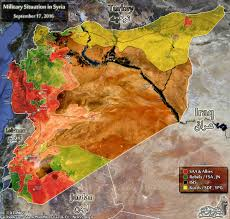 Map Of Syria And Russia Map Complete Syrian War Battlefield Update