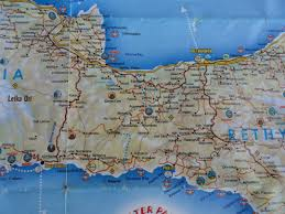 Map Of Crete Greece by Maps Of Crete