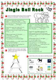 english exercises jingle bell rock