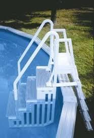 blue wave blue wedding cake pool step jet com pools