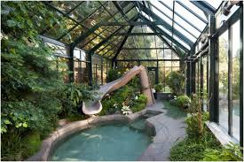 Greenhouses For Backyard Backyards Enchanting Greenhouse Pool Cover 3 Of 5 Great Images
