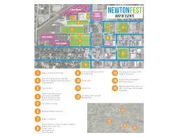 Iowa State Fair Map by Schedule Newton Fest