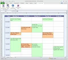 excel templates daily planner calendar maker calendar creator for word and excel schedule in excel