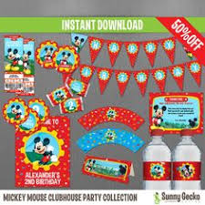 mickey mouse clubhouse 2nd birthday party karas party