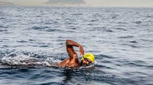 Water Challenge Asian Rohan More Swimmer From Pune Becomes Youngest And Asian