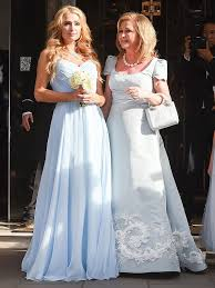 chelsea clinton wedding dress chelsea clinton kyle richards and more attend nicky