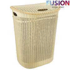 Laundry Hamper Australia by Plastic Laundry Basket Washing Clothes Bin Rattan Knot Style With