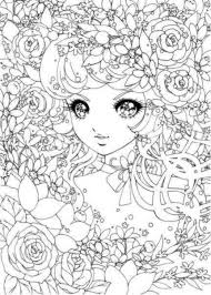 detailed coloring pages anime coloringstar