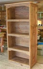 barnwood bookcase love the old natural look diy