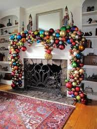 diy ornament garland possible use for all the big