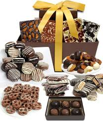 chocolate basket chocolate covered company mega delectable artisan crafted gift